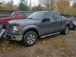 2012 FORD F-150 XTR, EXTENDED CAB, LOW KM