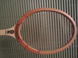 vintage tennis racket from Slazenger  ( Roger Taylor )