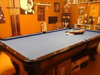 Brand New Pool Table - 8 months old, Price noted OBO