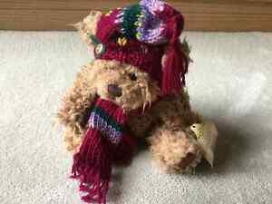 BRAND NEW BRASS BUTTONS 'DOOLEY'COLLECTIBLE BEAR