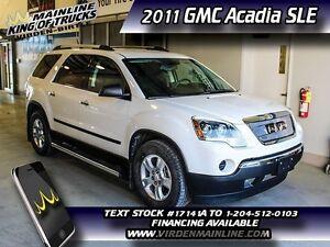 2011 GMC Acadia SLE  - $210.61 B/W - Low Mileage