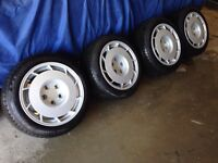 Corvette c4 rims and tires with BMW e30 spacers