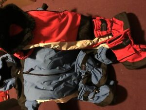 Baby Gear - Molehill Snow suits and boots - Size 9/18mths