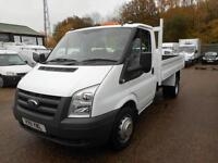 2011 FORD TRANSIT T350 MWB TIPPER 100 6-SPEED TIPPER DIESEL