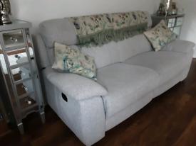 Three seater sofa ( recliner)