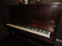 Beautiful Antique Nordheimer Piano - Espresso