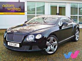 2011 (11) Bentley Continental 6.0 W12 GT MDS 6.0 Coupe Automatic 2dr - 25K MILES