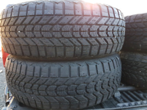 Used winter tires (3 sets)