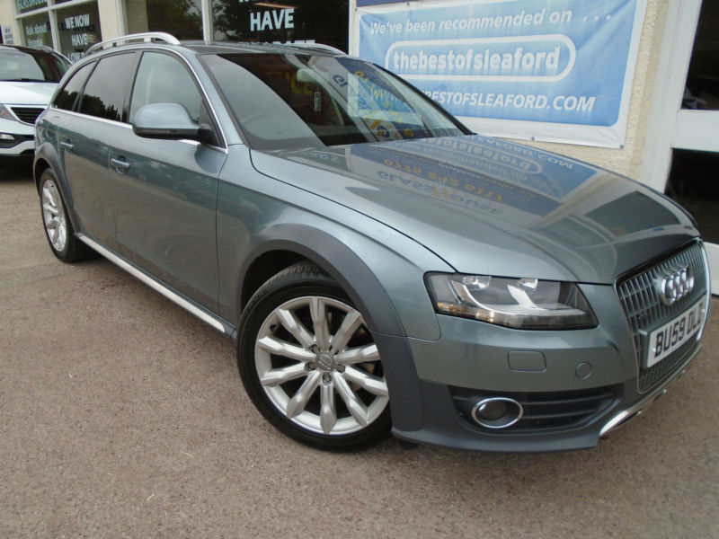 Audi A4 Allroad 2 0tdi Cr 170ps 2009 Quattro S H P X Swap In