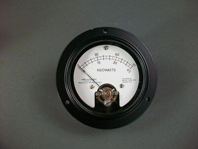 Am Instruments Panel Mount Kilowatt Meter 7930973 -new In Box