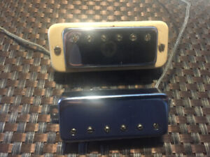 Two (2) humbucking pickups originally in a 1974 Gibson Les Paul