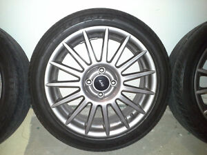 Rims and Tires 215/45/17 SVT for Ford Focus+ Fiesta