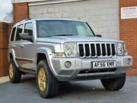 2006 Jeep Commander 3.0 CRD V6 Limited 4x4 5dr SUV Diesel Automatic