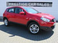 2012 Nissan Qashqai 1.6 Acenta 2WD 5dr Petrol red Manual