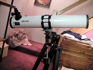 4 1/2 dia reflector telescope