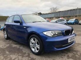 2010 BMW 1 Series 118 Hatch 5Dr 2.0d 143 SE 6 Diesel blue Manual