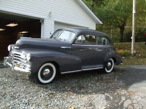 CHEVROLET 1948 STYLEMASTER  2 PORTES IMPECCABLE