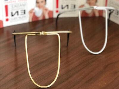 1 Prote Maske Nasenbügel für Mundschutzmaske für Erwachsene Gold (48500)