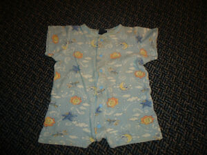 Boys Size 18-24 Months Summer Sleeper