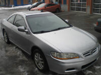 2002 Honda Accord EX V6 Coupé (2 portes)