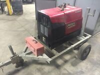 Lincoln 250 GXT Mobile Gas Welder