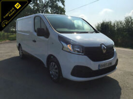 2015 65 RENAULT TRAFIC SL27 BUSINESS + CDI VAN 1 OWNER FINANCE PX WELCOME