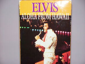 """RARE"" FIND ELVIS LIVE CONCERT ALOHA FROM HAWAII (VHS)"