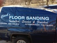 HARDWOOD FLOORS - Sanding and Refinishing !!