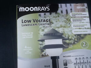 Moonrays garden lighting - REDUCED