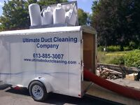 Ultimate Duct Cleaning! Call today for a free quote!