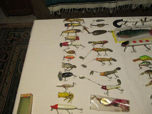 Antique and Present day Lures