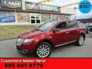 2014 Lincoln MKX Base  AWD NAV PANO-ROOF CS MEM PWR-GATE THX-AUD