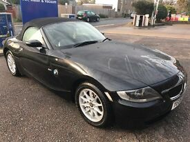 BMW Z4 SE 2006 In Black, F/S/H, 11MOT, Immaculate Inside&Out, Low Mileage, Just Had Full Service