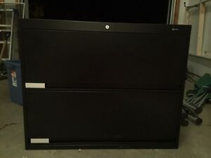 Global filing cabinet END TAB with doors