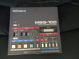 Roland MSQ 100 sequencer analogue retro