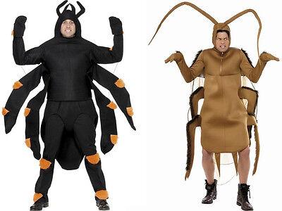 PFUI SPINNE / KAKERLAKE KOSTÜM ekelig lustig erschrecken schabe cockroach - Kakerlake Kostüm