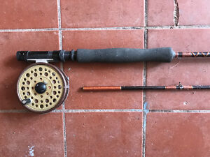 Fly Rod Reel Line Combo Berkley Specialist 7w used