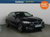 2016 BMW 2 Series 218d [150] Sport 2dr COUPE Diesel Manual