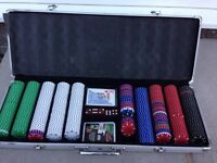 Poker Set & Case