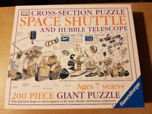 Space Shuttle & Hubble Telescope Jigsaw Puzzle