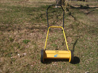 Ginge hand mower located in St Stephen area - $45. or b.o.