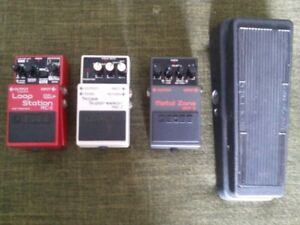 Used Guitar Pedals For Sale Good Condition