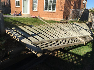 FENCE AND DECK REPAIR! Mississauga,Oakville , Burlington,Milton.