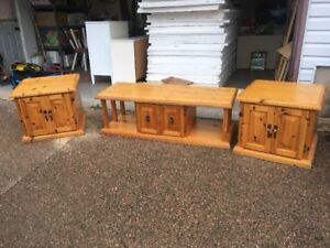 Pine Coffee & End Tables