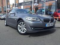 2010 BMW 5 SERIES 3.0 525D SE 4d FULL BLACK LEATHER PRO NAV