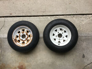 5.30-12 trailer tires and rims