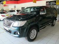 2016 Toyota Hilux Invincible D/Cab Pick Up 3.0 D-4D 4WD 171 Automatic *SAT NAV**