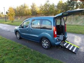 2011 Peugeot Partner Tepee 1.6 Hdi Only 33K 5 Seats WHEELCHAIR ACCESSIBLE WAV
