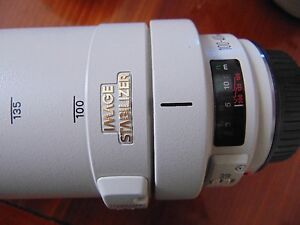 """Canon """"L"""" 100 to 400mm near Mint"""