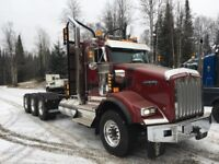 Experienced 8 axle log truck driver wanted immediately